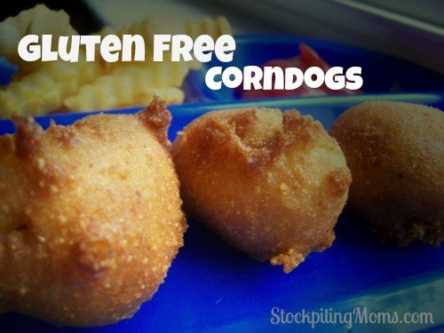 Gluten Free Corndogs are so easy to make and taste amazing! Your kids will really be impressed!