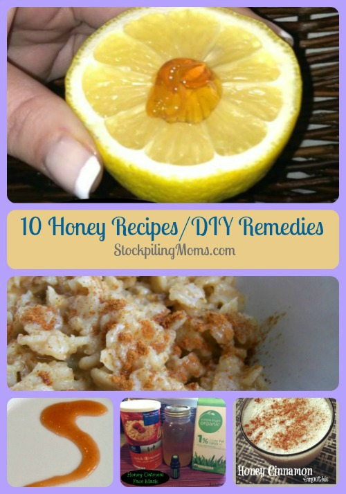 I LOVE these 10 Honey Recipes and DIY Remedies!