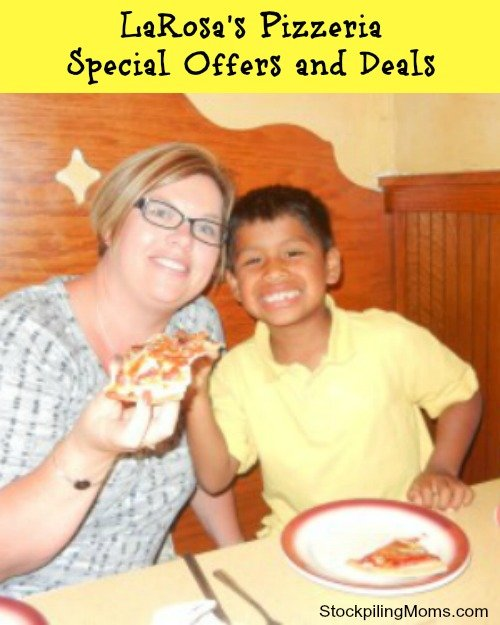 LaRosa's Pizzeria Special Offers and Deals