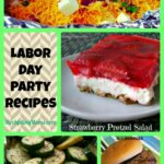 Labor Day Party Recipes Collage