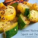 Sauteed Mushrooms, Squash and Zucchini