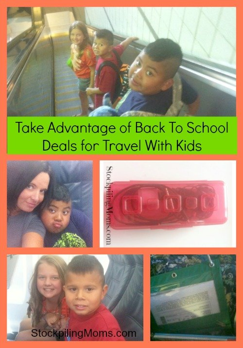 Take Advantage of Back To School Deals for Travel