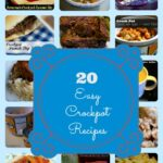 20 Easy Crockpot Recipes Collage