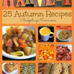 25 Autumn Recipes Collage