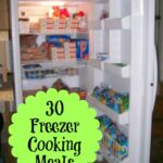 30 Freezer Cooking Meals
