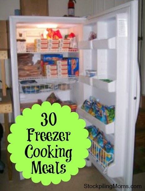 30 Freezer Cooking Meals That Save You Time and Money