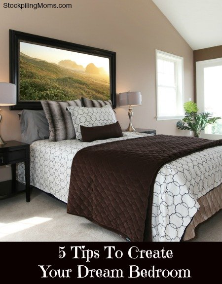 5 tips to create your dream bedroom for Design my dream room
