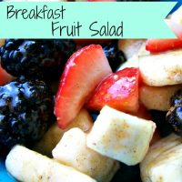 Breakfast Fruit Salad