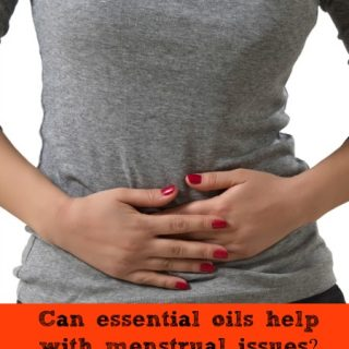 Can essential oils can help with menstrual issues?