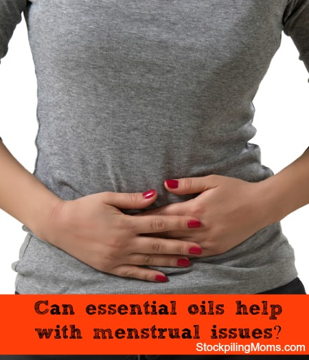 Can essential oils help with menstrual issues?