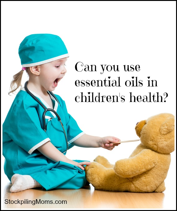 Can you use essential oils in children's health?
