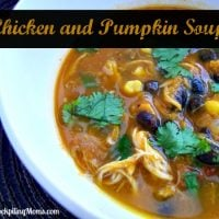 Chicken and Pumpkin Soup
