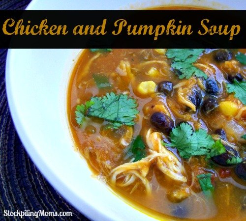 Chicken and Pumpkin Soup Recipe is perfect for fall.