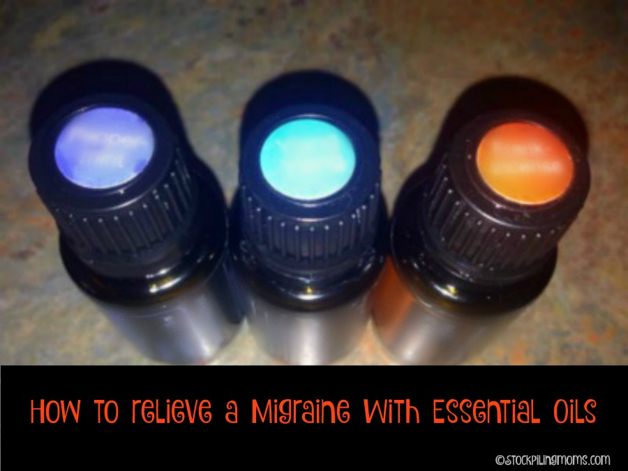 How to relieve a Migraine with Essential Oils