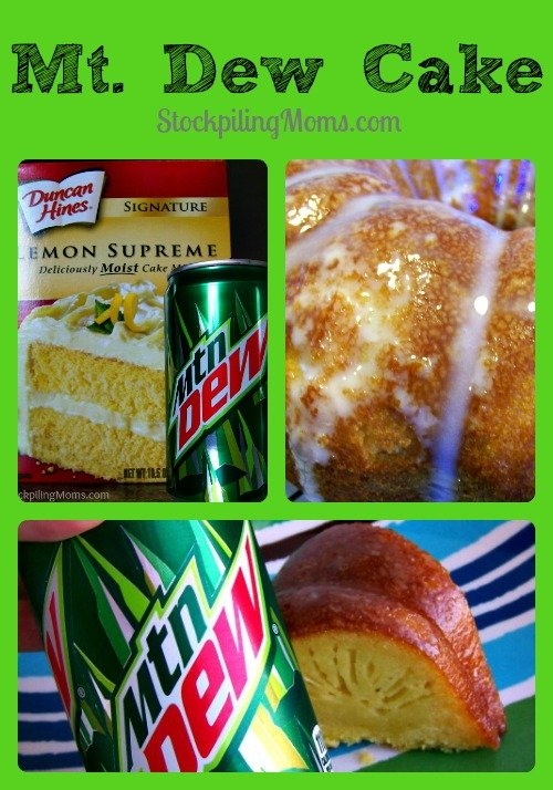 Mt Dew Cake is so moist and delicious! Seriously there is nothing better than this cake that you actually make with Mt. Dew!