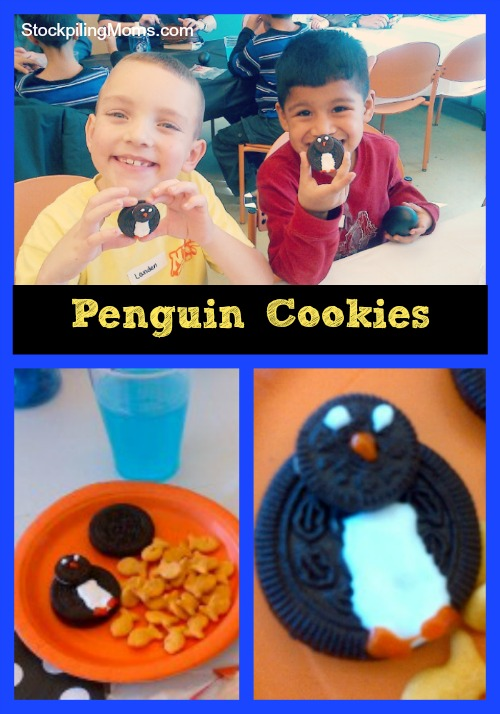 Penguin Cookies are an easy no bake treat for your winter parties!
