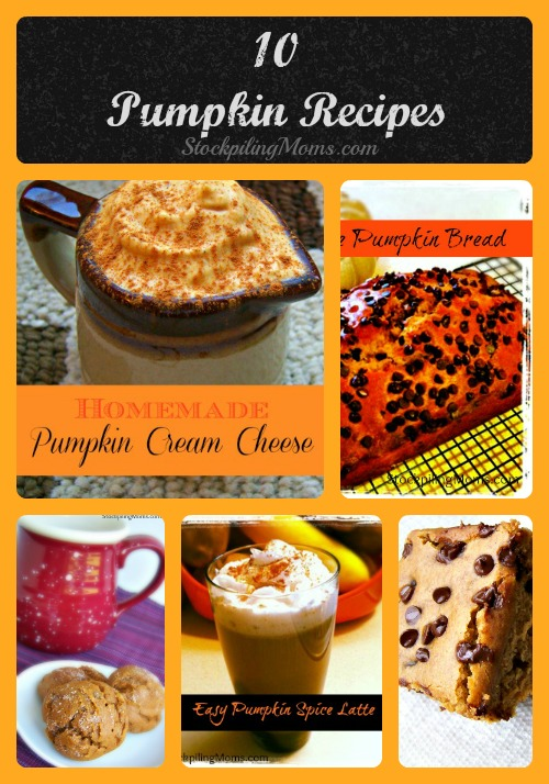 Here is a collection of our favorite Pumpkin Recipes that are perfect Autumn time!