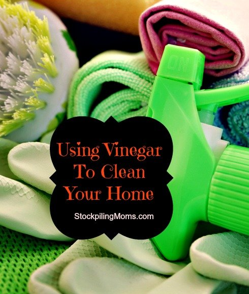 Using Vinegar To Clean Your Home