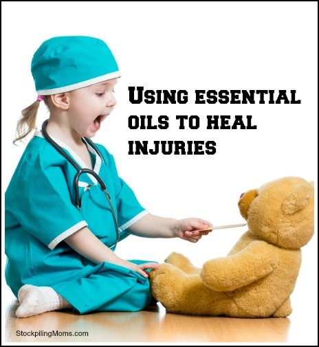 Can you use essential oils to heal injuries?
