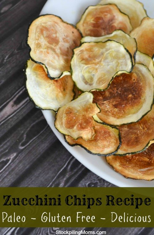 Zucchini Chips are an amazing recipe that are a delicious low carb snack!