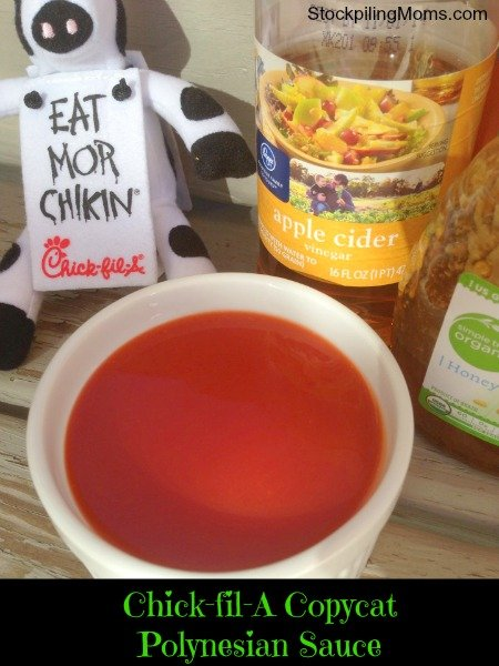 This Copycat Chick-fil-A Polynesian Sauce recipe tastes just like the real thing! You have to try it!