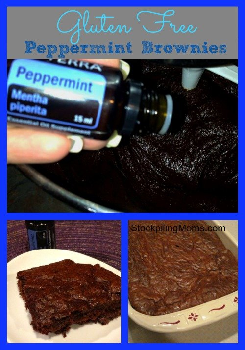 Gluten Free Peppermint Brownies Recipe are AMAZING! Perfect for the holidays!