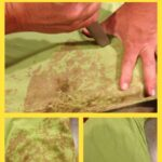 how to remove mud from clothing