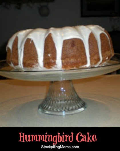 Hummingbird Cake is a family recipe that my Granny passed down to me. It was one of her favorites to make and tastes amazing! Give it a try!
