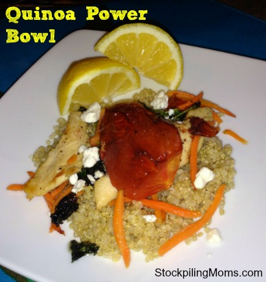 The first watch quinoa bowl is one of my favorites. Now I can enjoy it at home for a fraction of the cost!