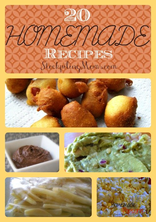 20 Homemade Recipes Collage
