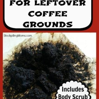 5 Uses For Leftover Coffee Grinds
