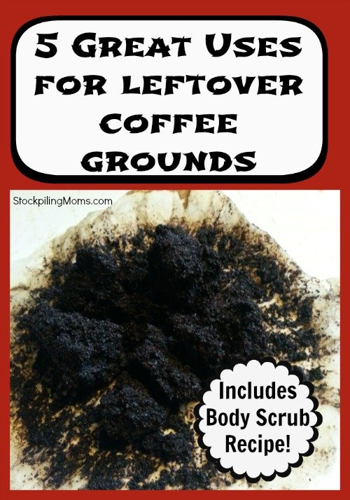 5 Great Uses For Leftover Coffee Grounds