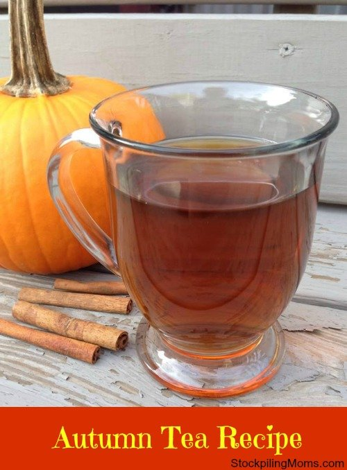 This Autumn Tea Recipe is perfect for the cooler weather of fall.