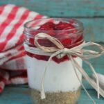 Cherry Cheesecake in a Jar final 1