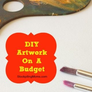 DIY Artwork On A Budget