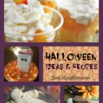 Halloween Ideas and Recipes Collage