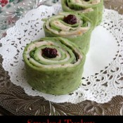 Smoked Turkey Canberry-Orange Rollups