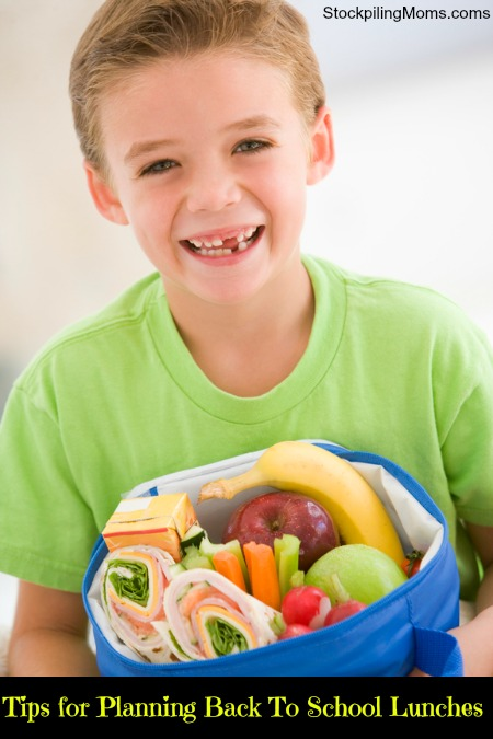 Tips for Planning Back To School Lunches