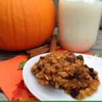 pumpkin chocolate chip oatmealcookies