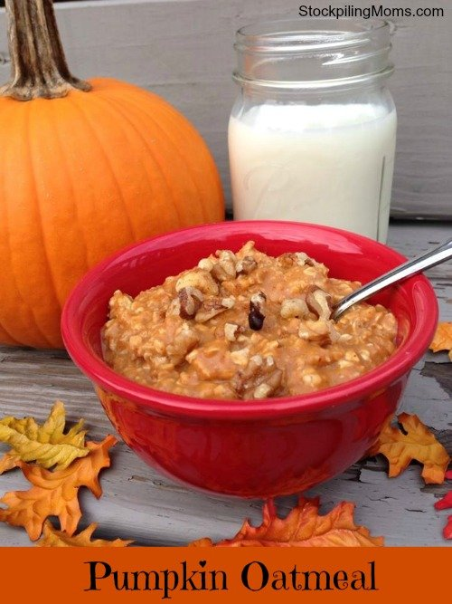 Pumpkin Oatmeal Recipe is perfect for fall