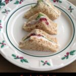 smoked turkey cranberry orange sandwich