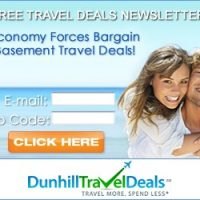 Dunhill Travel Deals Newsletter