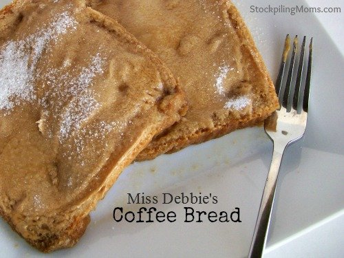 Miss Debbie's Coffee Bread is so easy to make but melts in your mouth!