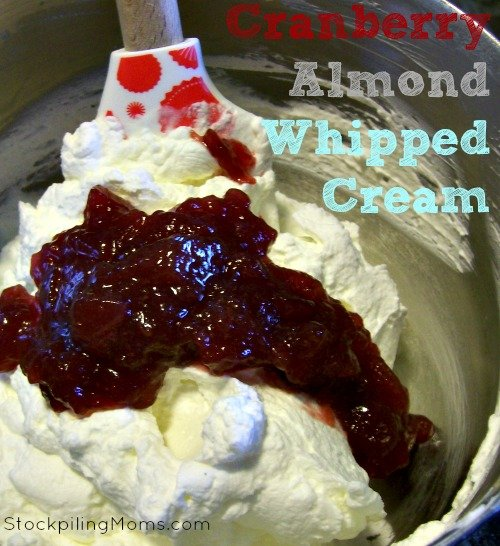 Cranberry Almond Whipped Cream2