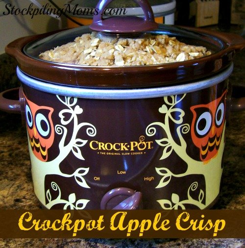 Crockpot Apple Crisp1
