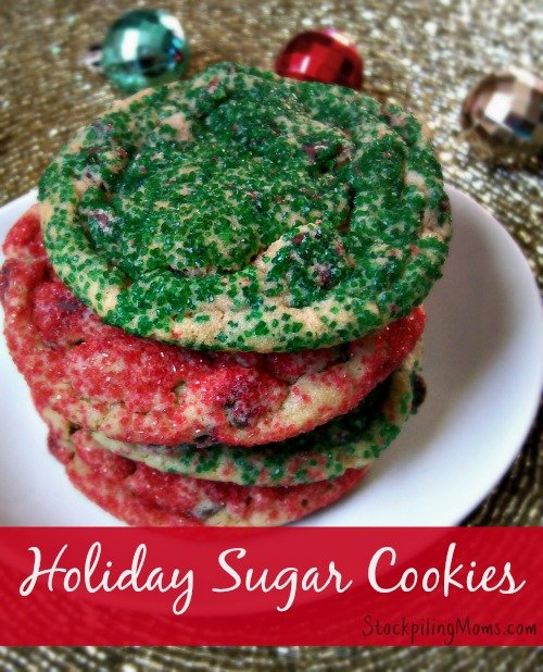 Delicious made from scratch cookies that are perfect for the Holidays