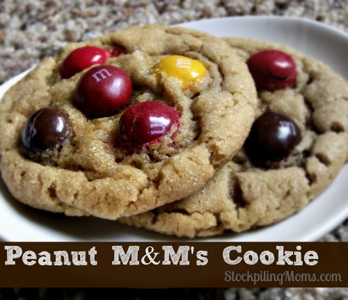 Peanut M&M's Cookie