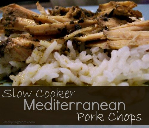 Slow Cooker Mediterranean Pork Chops