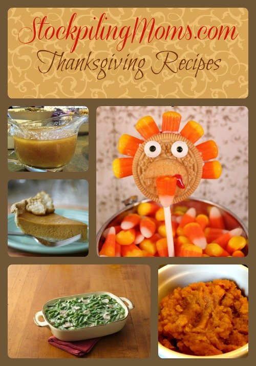 Thanksgiving Recipes Collage