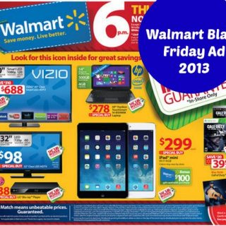 Shop online Walmart Cyber Monday 2013